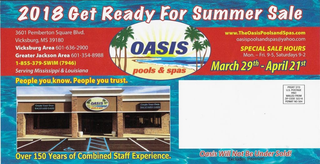 The Oasis Pools and Spas